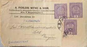 Privatganzsachen von A. Pichlers Witwe & Sohn 333_he10