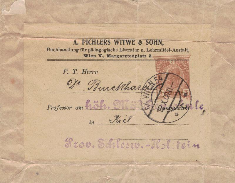 Privatganzsachen von A. Pichlers Witwe & Sohn 3_hell10