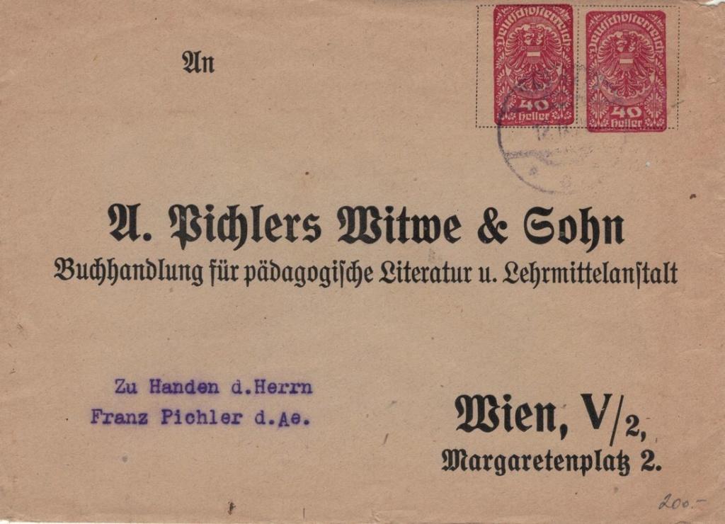 Privatganzsachen von A. Pichlers Witwe & Sohn 4040_r10