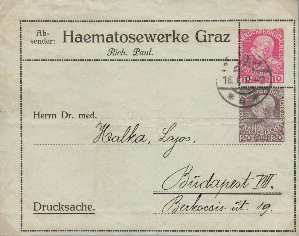 Die Freimarkenausgabe 1908 - Seite 12 Adress10