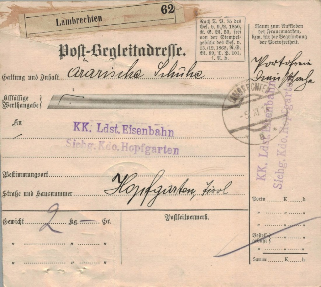 Die Freimarkenausgabe 1908 - Seite 3 Amtlic12