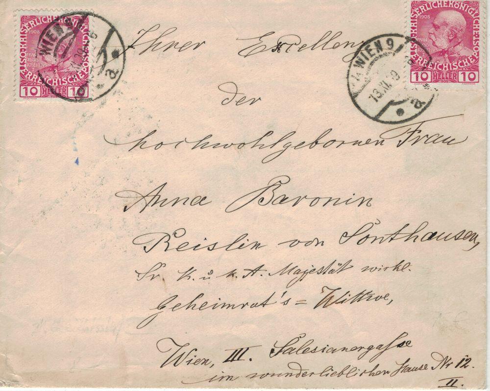 Die Freimarkenausgabe 1908 - Seite 3 Anschr10