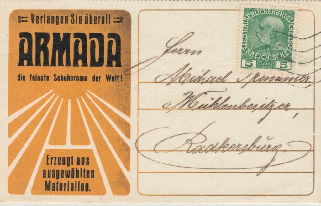 Werbeumschläge und -karten aus Österreich - Seite 8 Armada10