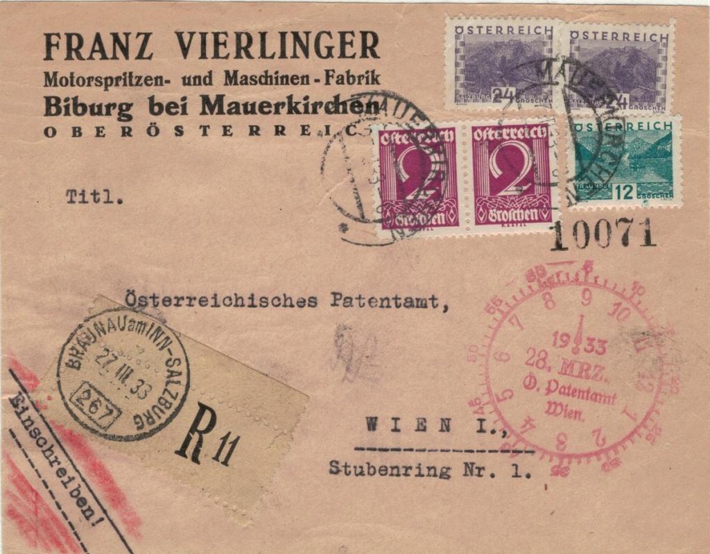 Österreich 1925 - 1938 - Seite 16 Bahnpo12