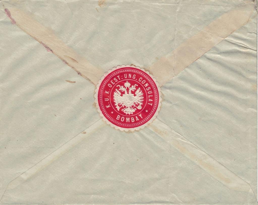 Die Freimarkenausgabe 1908 - Seite 4 Bombay12