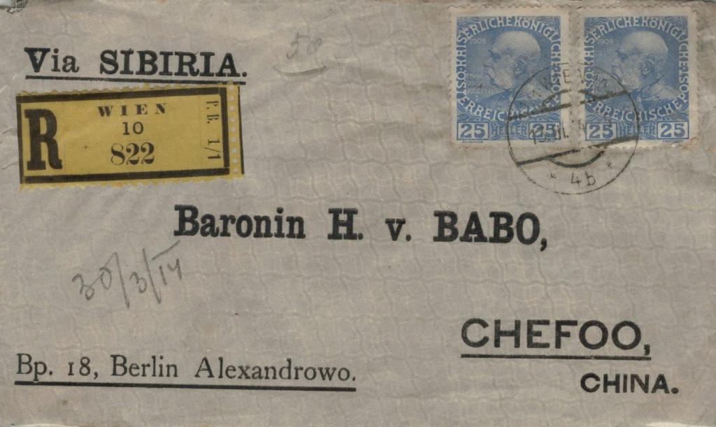 Die Freimarkenausgabe 1908 - Seite 7 Chefoo10