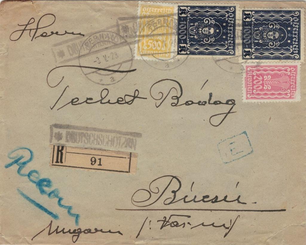 Inflation in Österreich - Belege - 1918 bis 1925 - Seite 23 Deutsc10