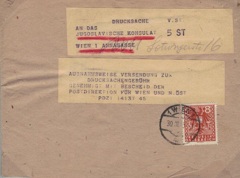 Wappenzeichnung  -  ANK 714-736 - Belege - Seite 5 Drucks10