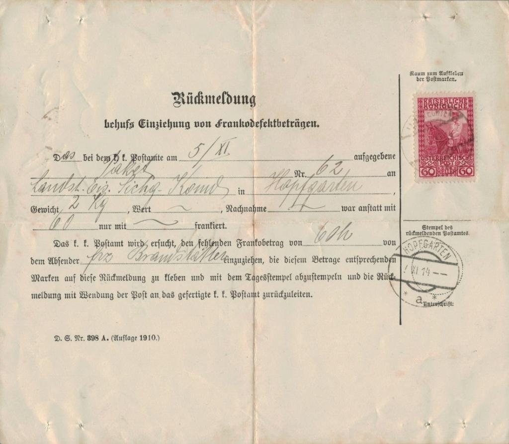 Die Freimarkenausgabe 1908 - Seite 3 Franko10