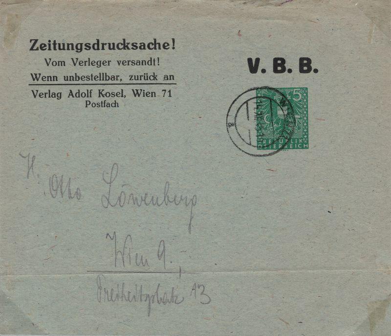 Wappenzeichnung  -  ANK 714-736 - Belege - Seite 5 Ganzsa10