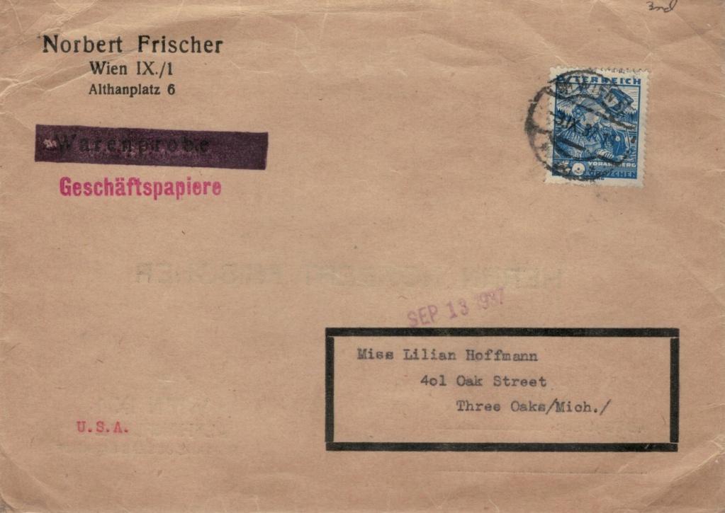 Österreich 1925 - 1938 - Seite 16 Geschz11