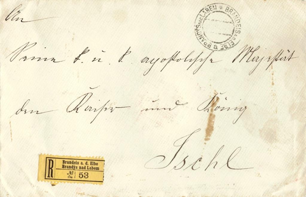 Briefe oder Karten von/an berühmte oder bekannte Personen - Seite 2 Kaiser11