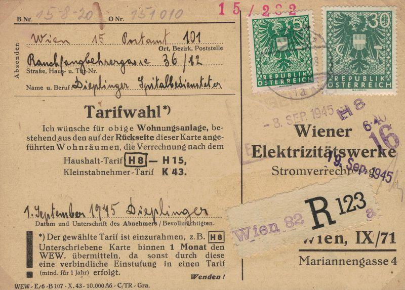 Wappenzeichnung  -  ANK 714-736 - Belege - Seite 5 Karte_10