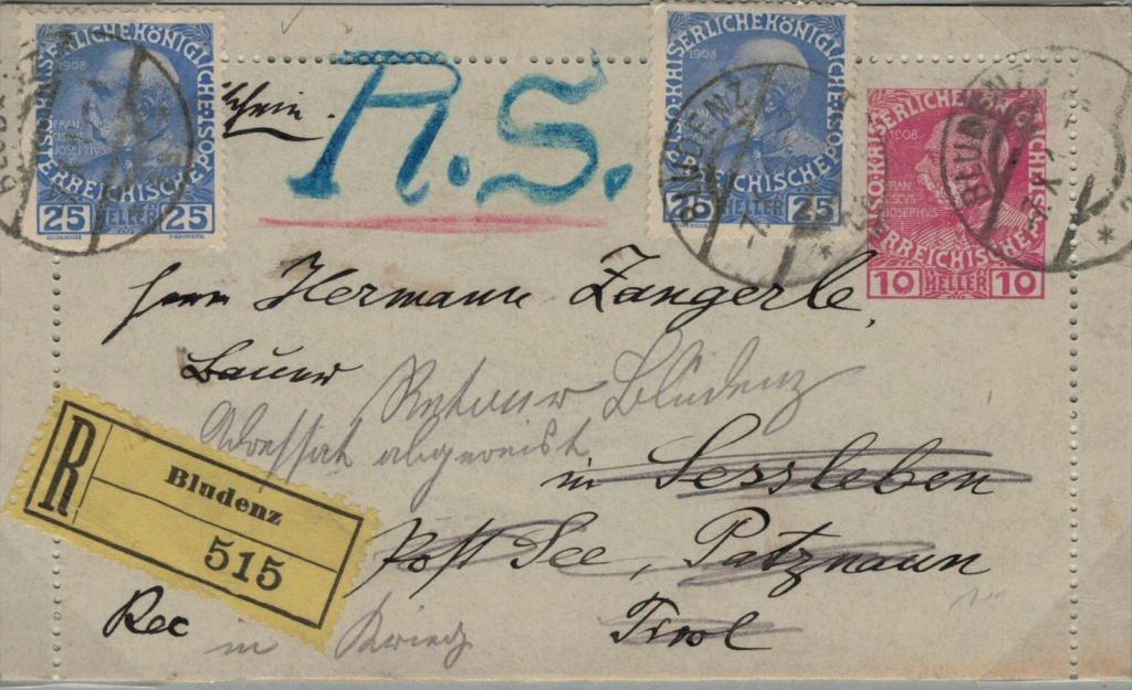 Die Freimarkenausgabe 1908 - Seite 7 Karteb10