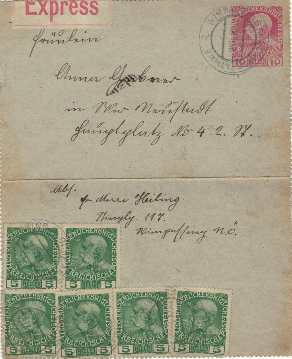 Die Freimarkenausgabe 1908 - Seite 9 Karten12