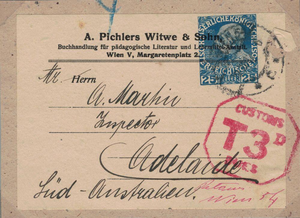 Privatganzsachen von A. Pichlers Witwe & Sohn Kfj_2510