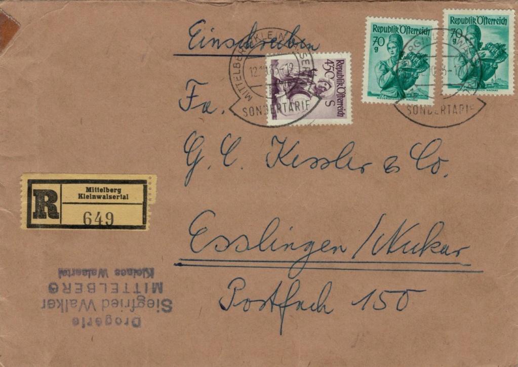 Trachtenserien ANK 887 - 923 und 1052 - 1072 Belege - Seite 13 Kleinw10