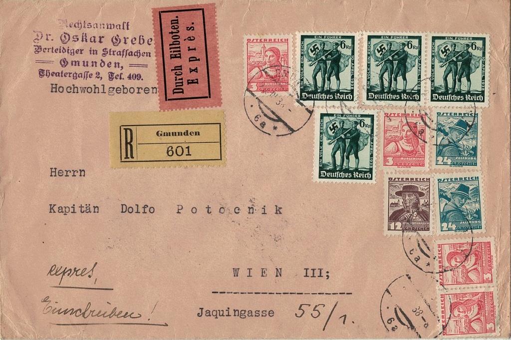 Österreich im III. Reich (Ostmark) Belege - Seite 25 Land_z11