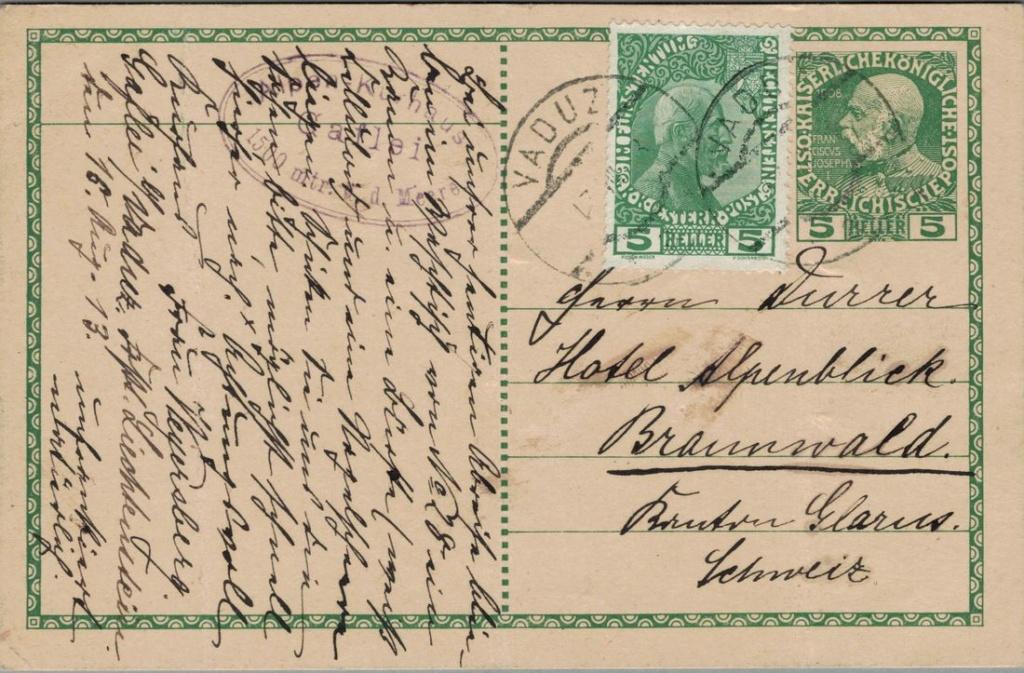 Die Freimarkenausgabe 1908 - Seite 4 Liecht10