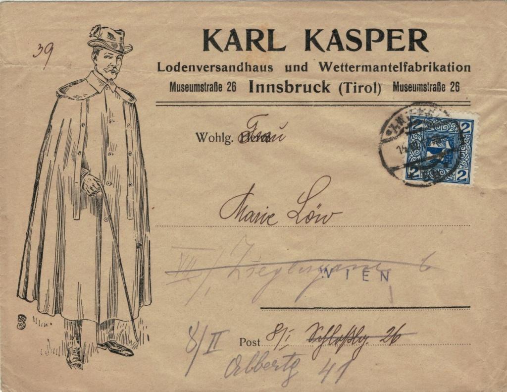 Werbeumschläge und -karten aus Österreich - Seite 8 Loden10