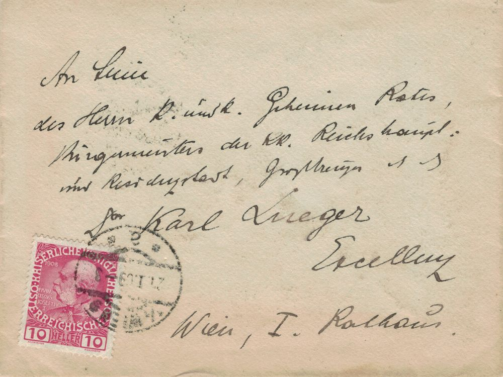 Die Freimarkenausgabe 1908 - Seite 3 Lueger10