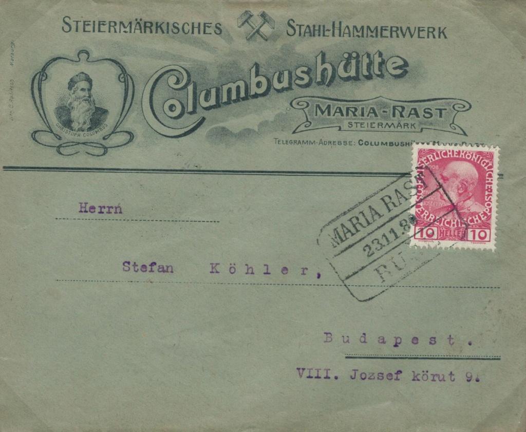 Die Freimarkenausgabe 1908 - Seite 10 Maria_10