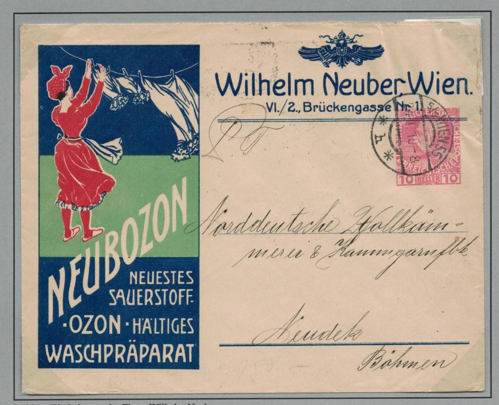 Private Briefumschläge Monarchie Neuboz10