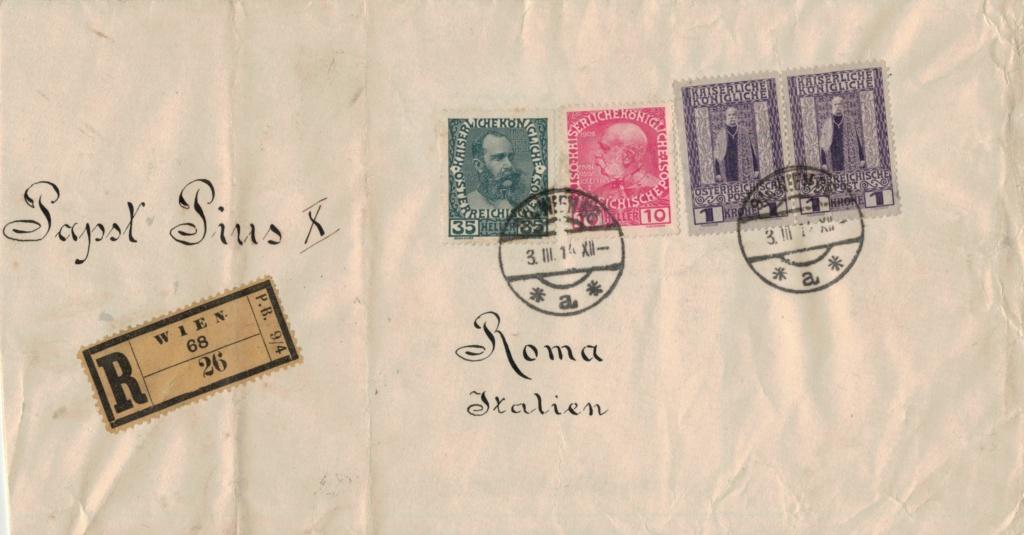 Briefe oder Karten von/an berühmte oder bekannte Personen - Seite 2 Papst10
