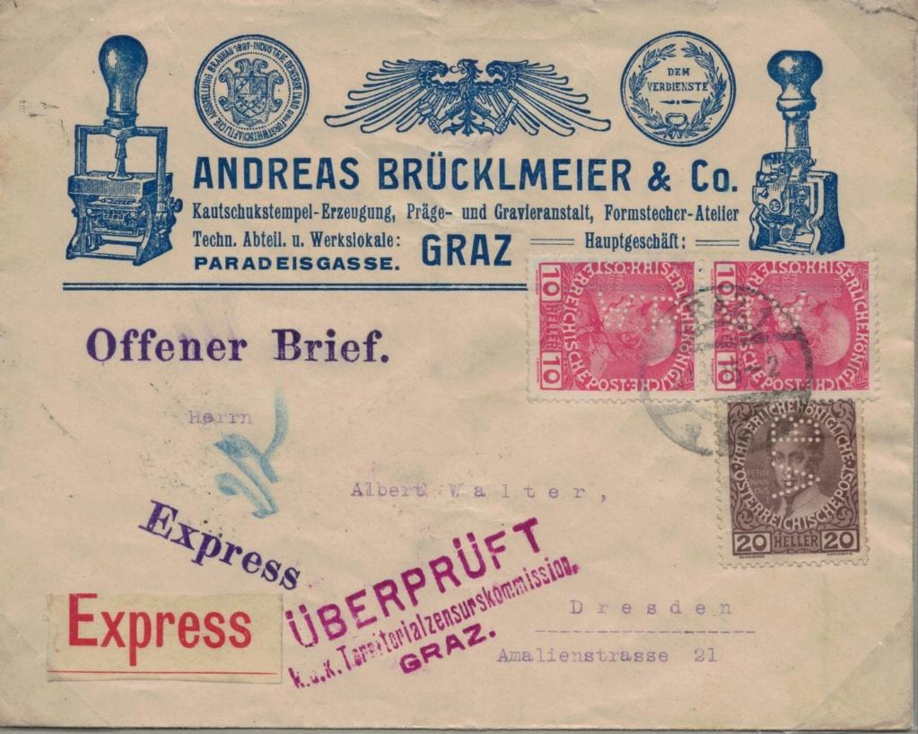Die Freimarkenausgabe 1908 - Seite 7 Perfin11