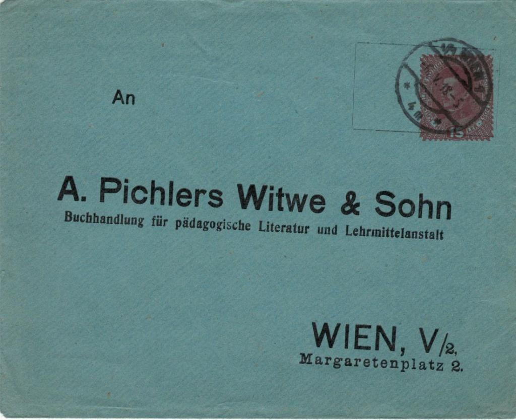 Privatganzsachen von A. Pichlers Witwe & Sohn Pichle10