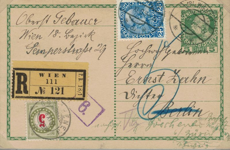 Die Freimarkenausgabe 1908 - Seite 2 Porto_12