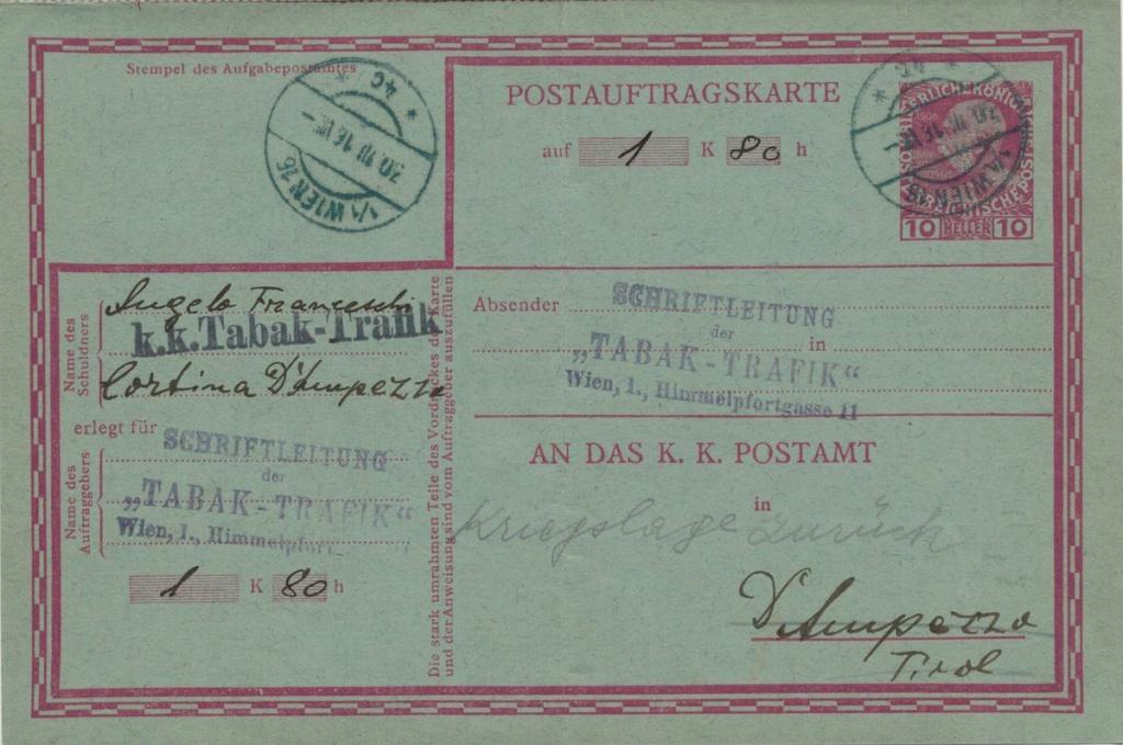 Die Freimarkenausgabe 1908 - Seite 7 Postau10
