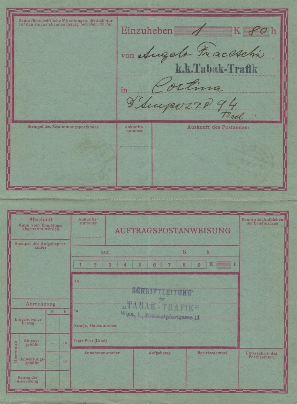 Die Freimarkenausgabe 1908 - Seite 7 Postau11