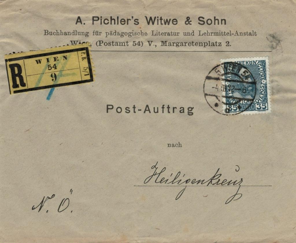 Privatganzsachen von A. Pichlers Witwe & Sohn - Seite 2 Postau12