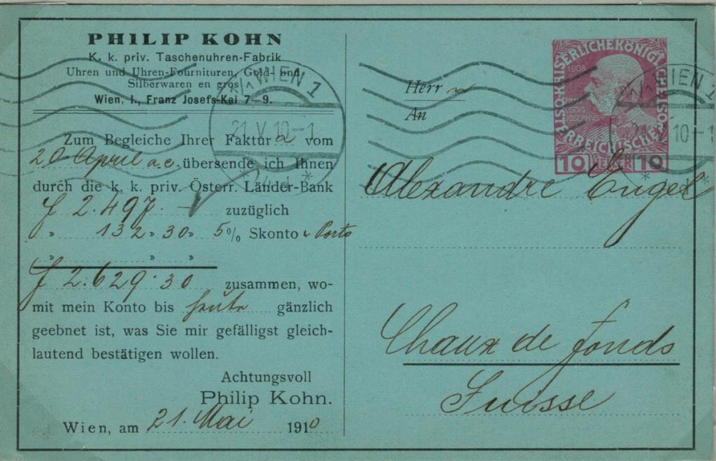 Die Freimarkenausgabe 1908 - Seite 9 Privat10