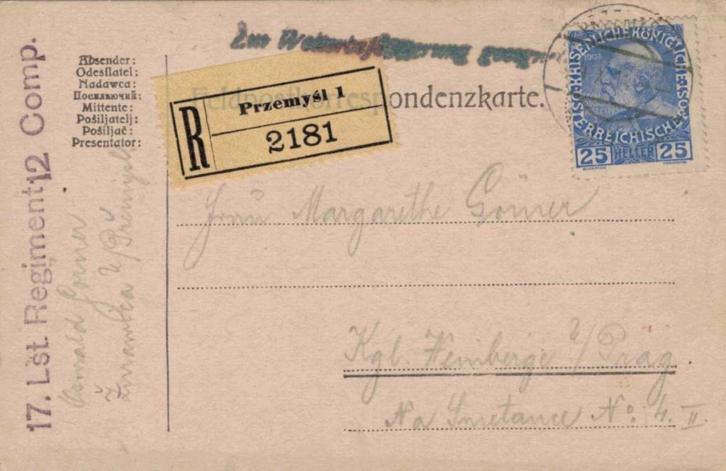 Die Freimarkenausgabe 1908 - Seite 11 Przemy10