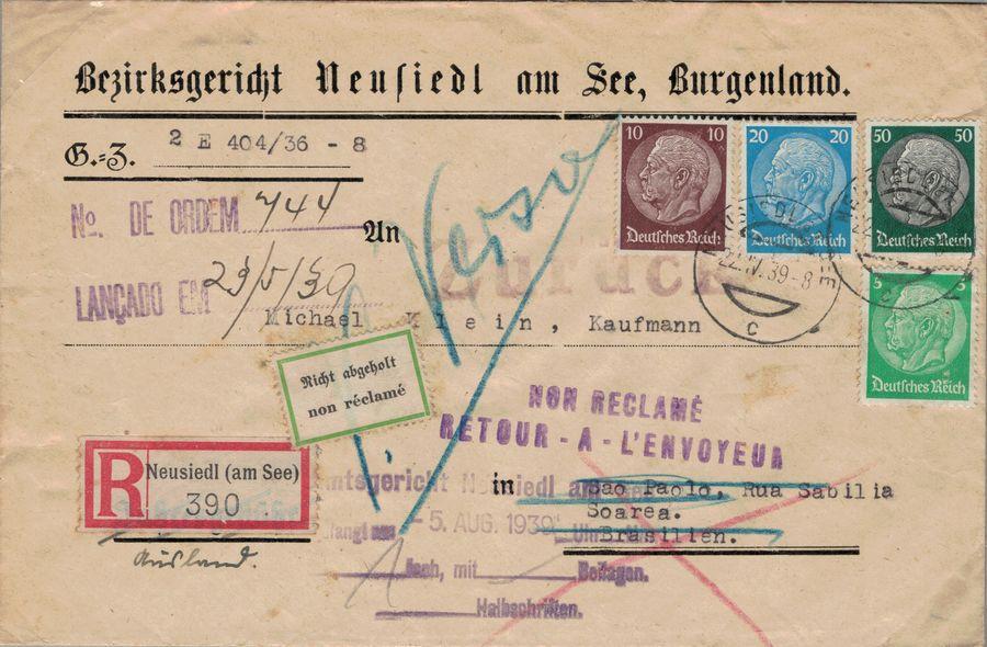 Österreich im III. Reich (Ostmark) Belege - Seite 18 Recko_10