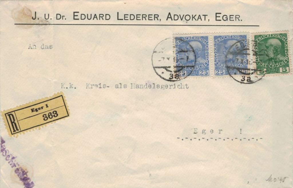 Die Freimarkenausgabe 1908 - Seite 4 Reko_e10