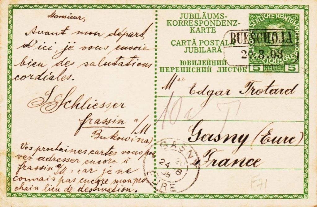 Die Freimarkenausgabe 1908 - Seite 6 Ruthen10