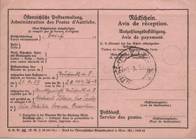 Österreich im III. Reich (Ostmark) Belege - Seite 18 Rzcksc10