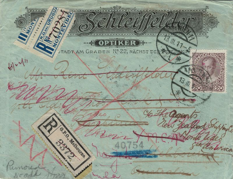 Die Freimarkenausgabe 1908 Schlei10
