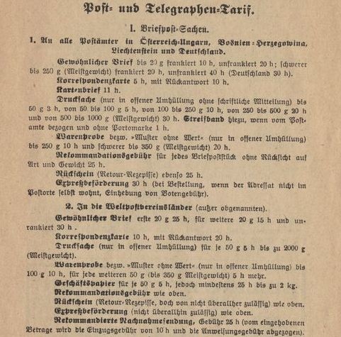 Die Freimarkenausgabe 1908 - Seite 5 Tarife10