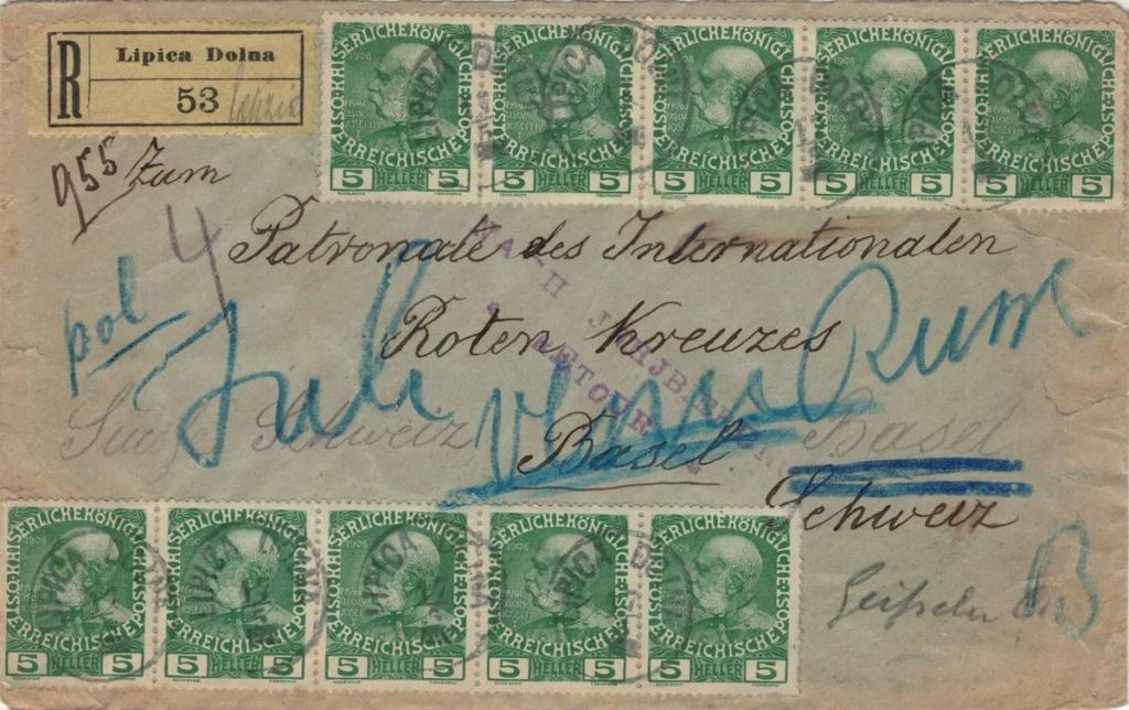 Die Freimarkenausgabe 1908 - Seite 5 Ukrain10