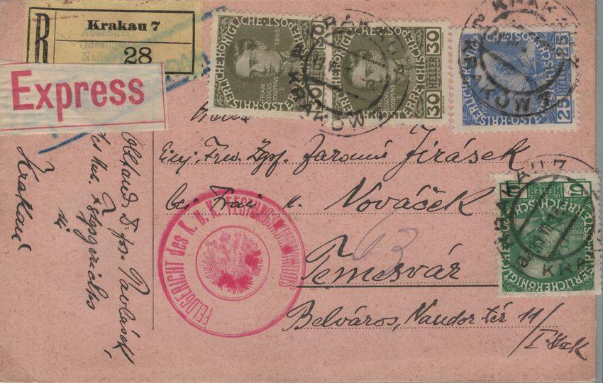 Die Freimarkenausgabe 1908 - Seite 2 Ungarn10