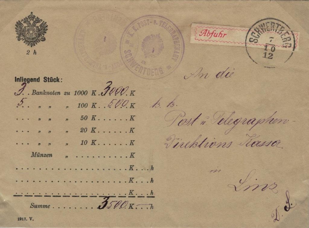 Wertbriefe - Geldbriefe Österreich - Seite 2 Wertbr11