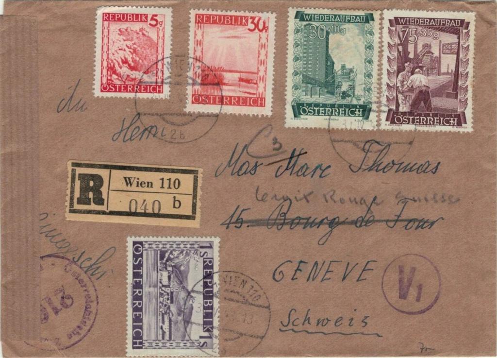 Sammlung Bedarfsbriefe Österreich ab 1945 - Seite 16 Wiedra10