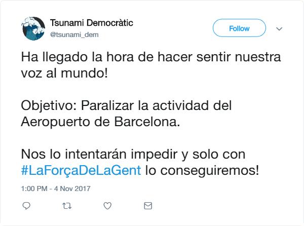 [TD] PRIMERA ACCIÓ DEL TSUNAMI DEMOCRÀTIC Baixa10