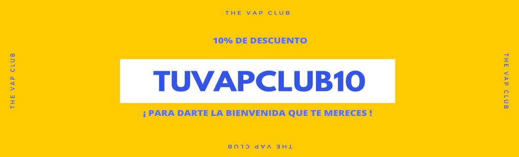 The Vap Club - Tu nueva tienda de vapeo Online! Banner10