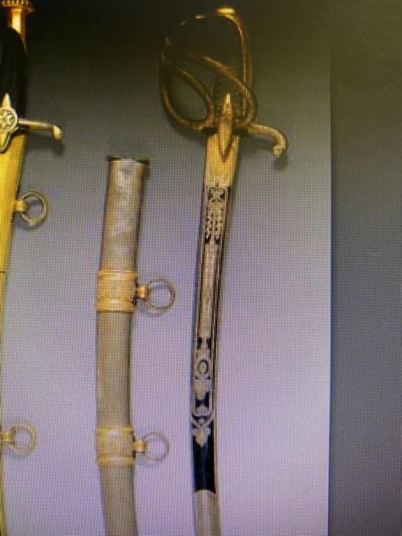 sabre de cavalerie de luxe 2cca2210