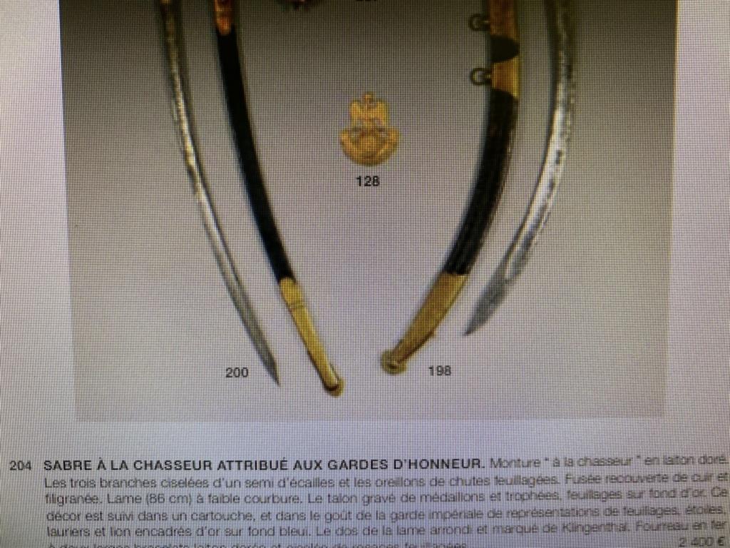 sabre de cavalerie de luxe Caa4e410